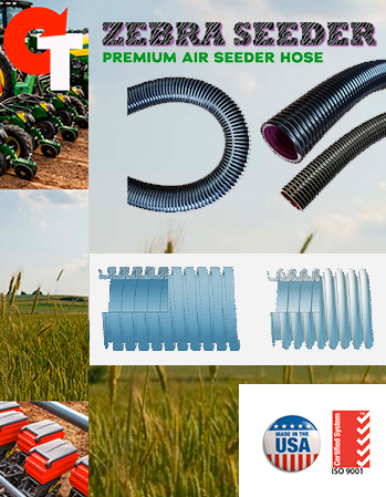 Zebra Seeder Air Seeder Hose