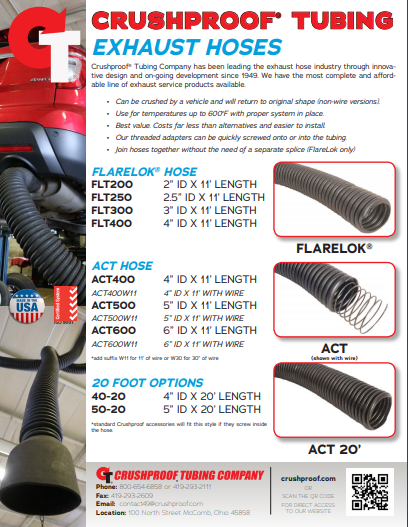 Garage Exhaust Solutions Catalog
